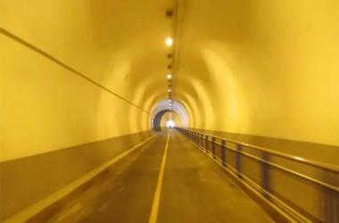 760 미터 허공 터널