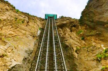 미터 전경 관광 엘리베이터