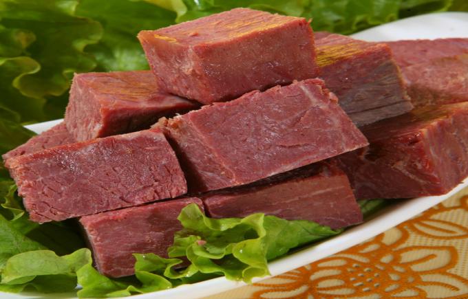 평야 쇠고기.